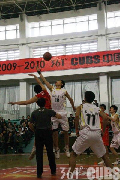 361°CUBS第十三轮:天津工大主场胜山东大学
