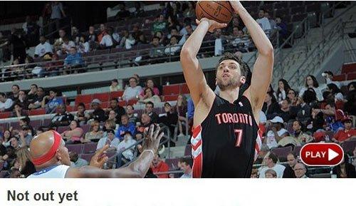 NBA官网:猛龙救赎胜活塞 仍保留季后赛希望
