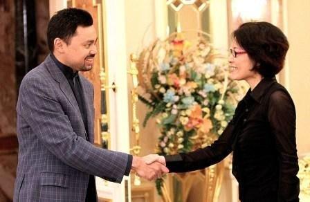 驻文莱大使向王储辞行 邀请其出席广州亚运会