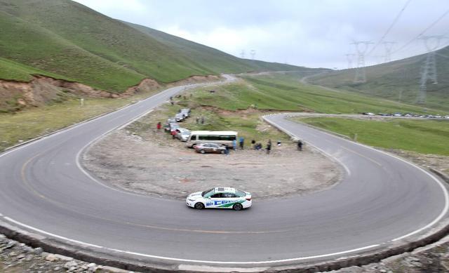 环湖电动汽车赛评测第二日 3800米海拔测试性能