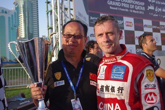 F1摩托艇多哈赛 中国队首获海外赛亚军创历史