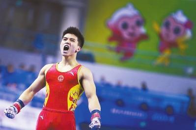 全国体操锦标赛:贵州队三连冠 林超攀状态佳