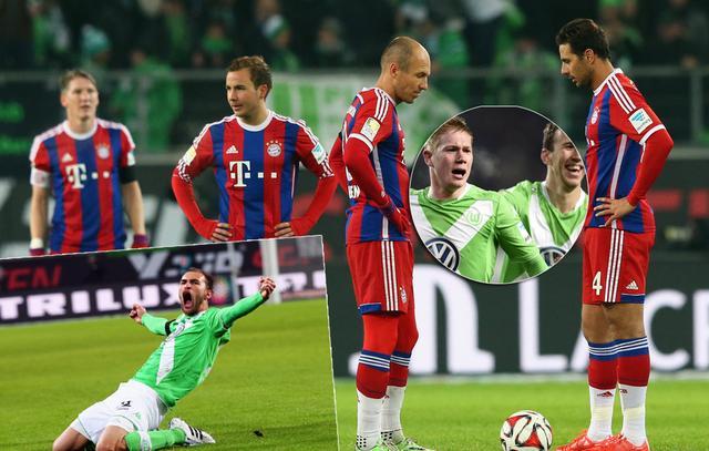 德甲-拜仁1-4联赛不败终结 赛季单场首丢4球
