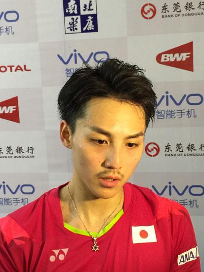 日本男单被判触网输掉比赛:是误判 只能接受