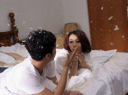 马琳前妻张宁益拍摄MV