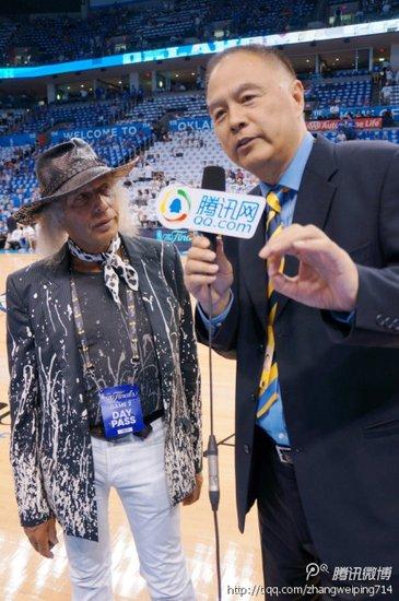 腾讯NBA专访全美第一球迷