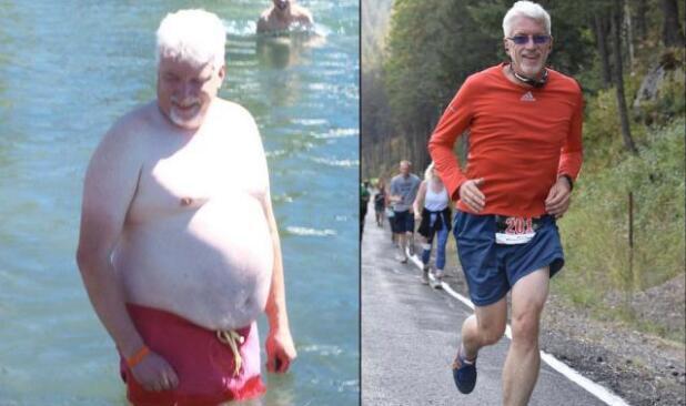 太励志!美国55岁跑者成功减重36公斤