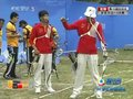 视频:射箭男团1/4决赛 半程过后中国领先