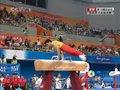 视频:体操男子全能决赛 滕海滨鞍马完成出色