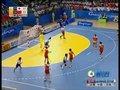 视频:女子手球日本队快板得分23-18