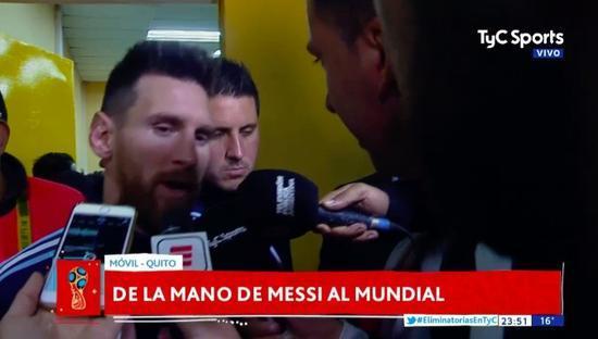 梅西:连输3次决赛不公平 明年拿世界杯冠军