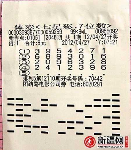 女子8元机选中500万 独自兑奖欲露脸出镜(图)