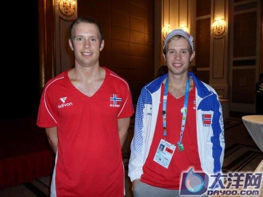 挪威跆拳道双胞胎:中国教练比韩国的要严厉