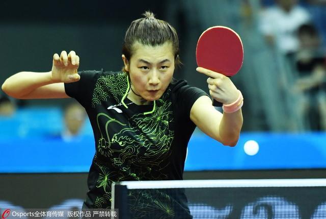 女单决赛丁宁4-2刘诗雯 成第10位全运女单冠军