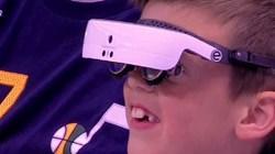 盲人也有机会看比赛 爵士助小球迷实现心愿