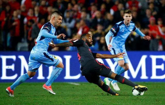 友谊赛-阿森纳2-0胜悉尼 5200万新援首秀破门