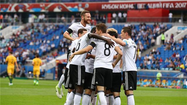 联合会杯-德国3-2澳大利亚 中场双核送处子球