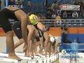 视频:女子100米自由泳决赛 中国队包揽金银