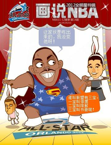 《画说NBA》第十四期:全明星特辑