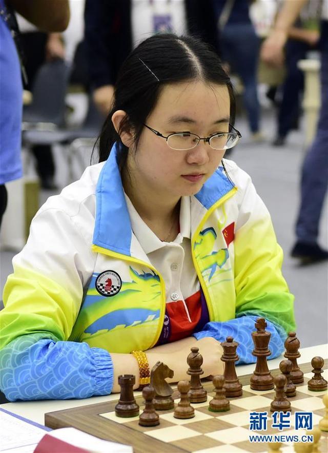 象棋奥赛中国女队力克乌克兰 男队得势不得分