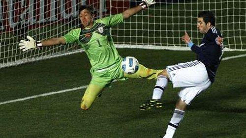 擎天门神将乌拉圭扑进四强 有他何愁决战巴西
