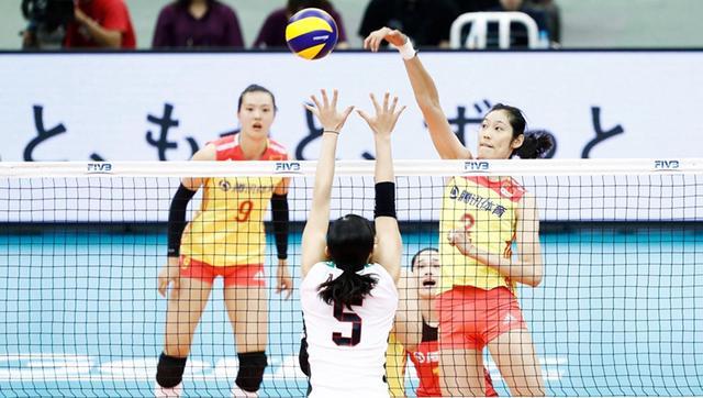 女排大冠军杯中国3-1日本 五战全胜完美夺冠