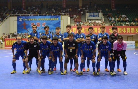 2012-13赛季五甲联赛球队 浙江黄龙三峡大学