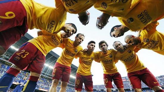 Barcelona usher in a busy test schedule 22 days 7 battle red and blue