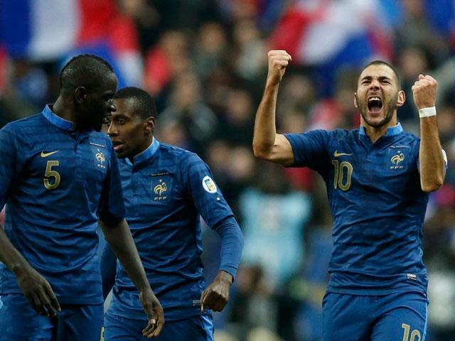 全场集锦:本泽马一球萨科建功 法国3-0乌克兰晋级截图