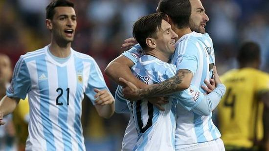 Jamaica 1-0 Argentina: Messi completed a hundred show
