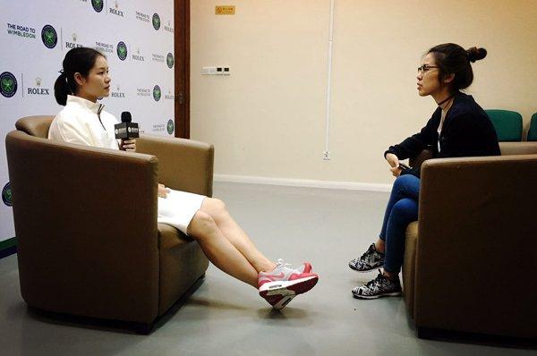腾讯体育记者对话李娜