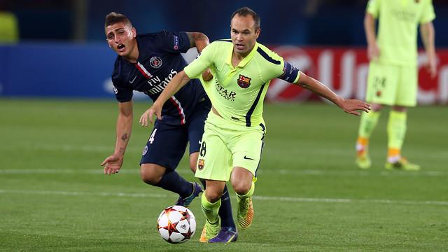 Barcelona away Thursday morning battle group match away to Paris reported losing hatred