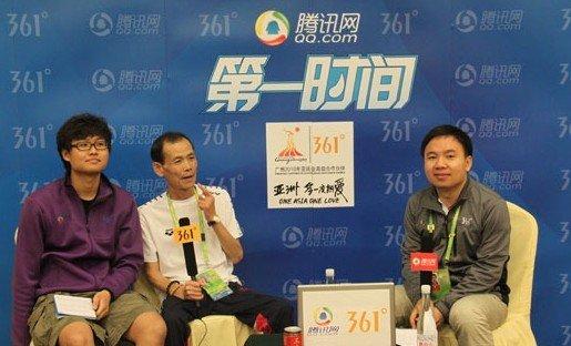 实录:朴泰桓教练否认金妍儿绯闻 孙杨更强大