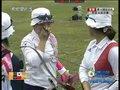 视频:射箭女团决赛 12箭结束中国队领先1环