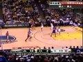 视频:湖人vs勇士 费舍尔接短传远程跳投轰篮