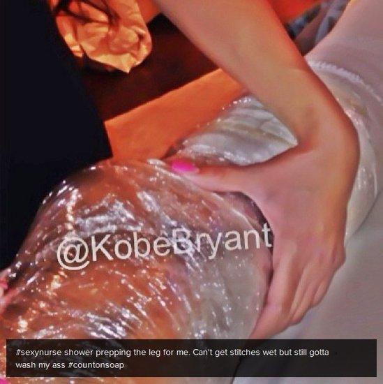 科比称性感护士在照顾自己