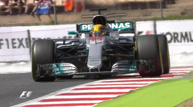 F1西班牙排位:小汉杆位 维特尔第2阿隆索第7