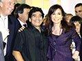 阿根廷总统挽留老马