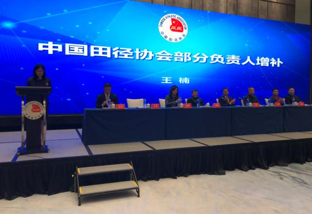 中国田径协会投票增补于洪臣等3位副主席