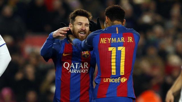 内马尔:梅西是世界上最出色的球员
