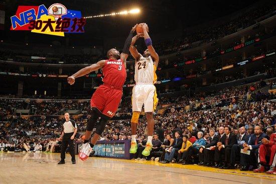 NBA30大绝技之后卫封盖:韦德成小个盖帽王