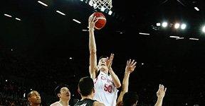 男篮红队惜败新西兰