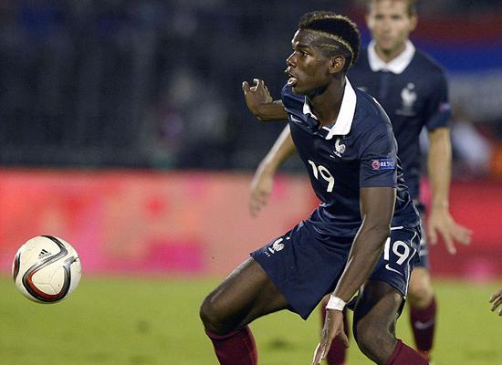 博格巴已成法国队真核 剑指欧洲杯欲比肩齐祖