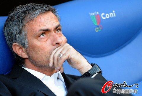 图文:国际米兰vs罗马 穆里尼奥憧憬三冠霸业