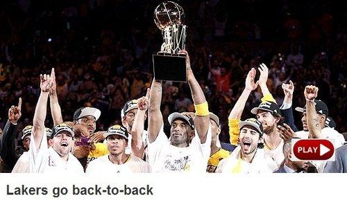 NBA官网:湖人第16次夺冠 一战洗刷队史耻辱