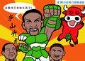 漫画:龙王发威荣升主角 热火主场力擒公牛