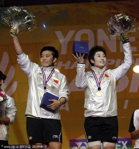 杜婧/于洋2-0横扫头号种子 国羽女双九连冠