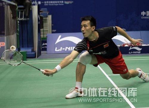 羽毛球名将之中国男单运动员杜鹏宇