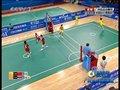 视频:女子藤球决赛第二场 中国高难度倒勾