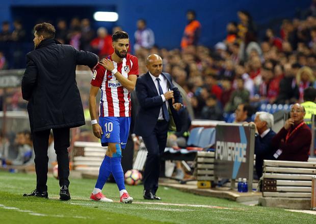 马竞宣布大将锁骨关节扭伤 将缺席欧冠半决赛